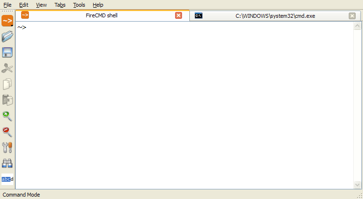 FireCMD x64 screenshot